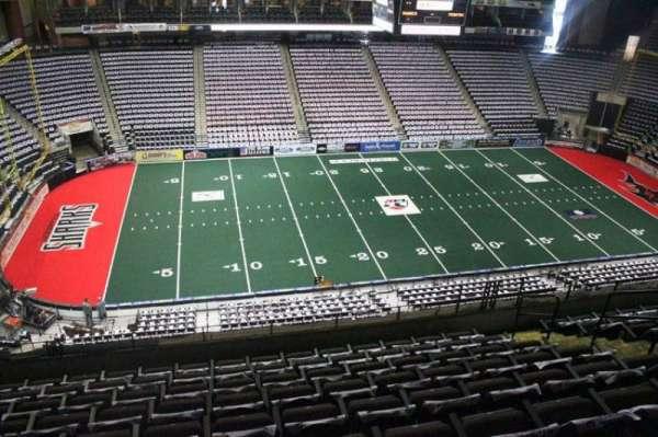 Jacksonville Veterans Memorial Arena, secção: 305, fila: H, lugar: 8