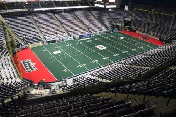 Jacksonville Veterans Memorial Arena, secção: 307, fila: H, lugar: 8
