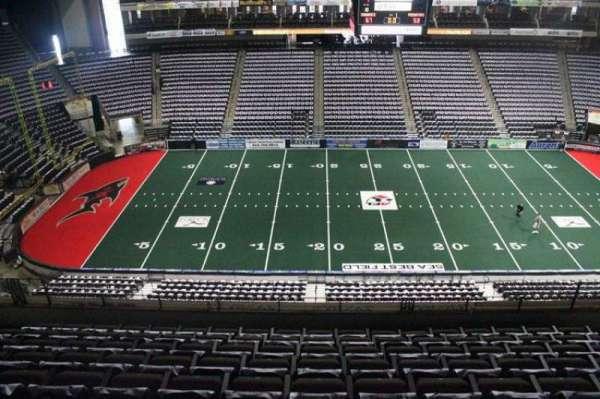 VyStar Veterans Memorial Arena, secção: 321, fila: F, lugar: 10