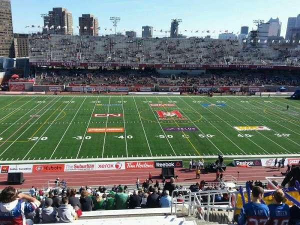 Percival Molson Memorial Stadium, secção: h2, fila: 9, lugar: 13
