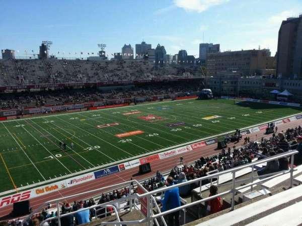 Percival Molson Memorial Stadium, secção: k2, fila: 7, lugar: 1