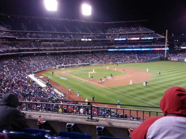 Citizens Bank Park, secção: 209, fila: 3, lugar: 12