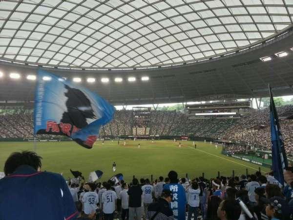 Seibu Prince Dome, secção: Lions Outfield