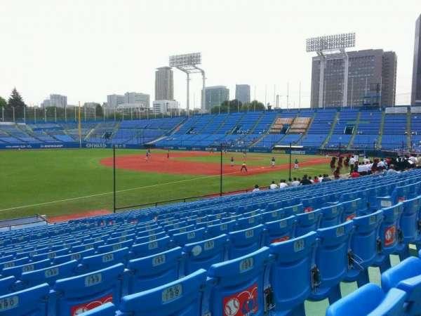 Jingu Stadium, secção: 12, fila: 25, lugar: 191