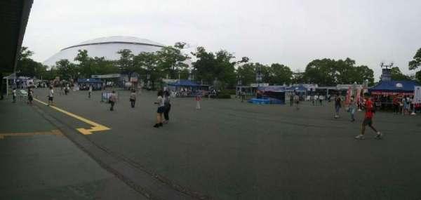 Seibu Prince Dome, secção: Outside