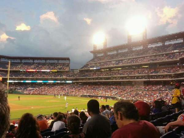 Citizens Bank Park, secção: 133, fila: 29, lugar: 14