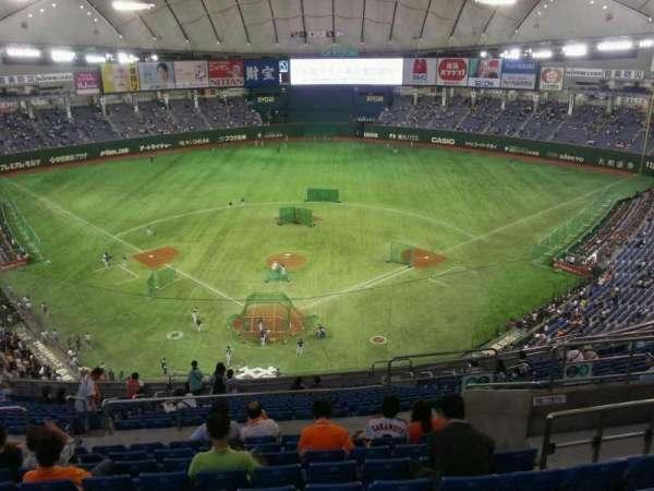 Tokyo Dome, secção: Home, fila: 20, lugar: 28