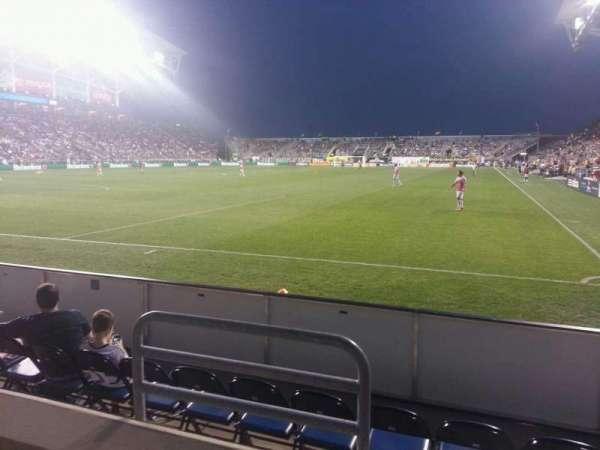 Talen Energy Stadium, secção: 114, fila: b, lugar: 10