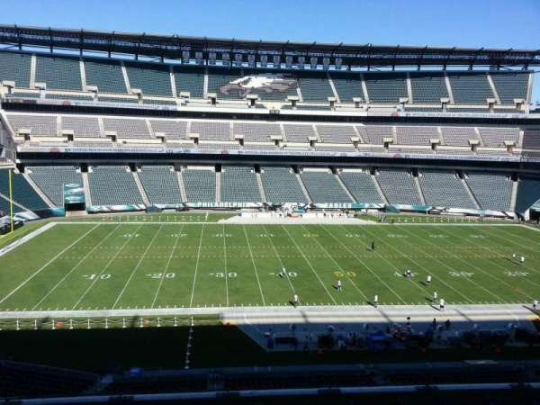 Lincoln Financial Field, secção: c39, fila: 11, lugar: 10
