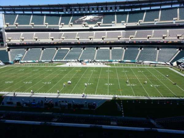 Lincoln Financial Field, secção: c2, fila: 9, lugar: 10