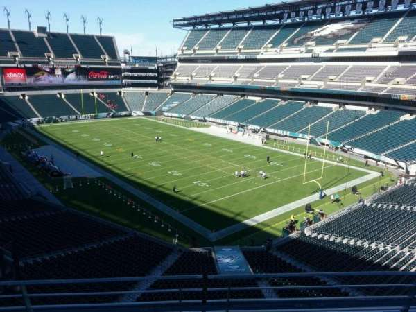 Lincoln Financial Field, secção: m7, fila: 15, lugar: 4