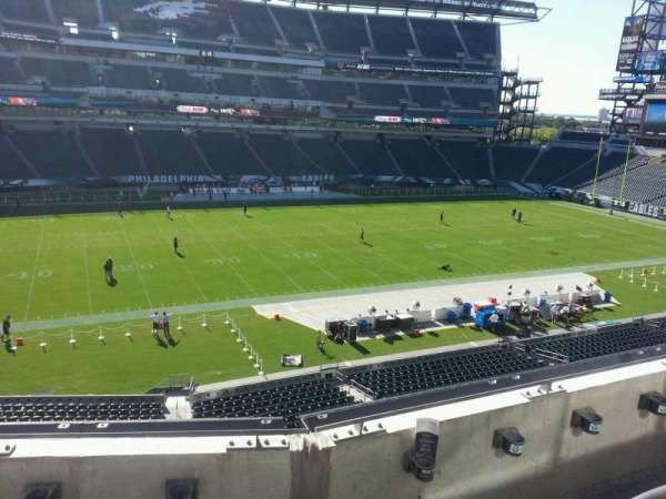 Lincoln Financial Field, secção: c19, fila: 3, lugar: 9