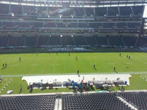 Lincoln Financial Field, secção: c21, fila: 2, lugar: 12