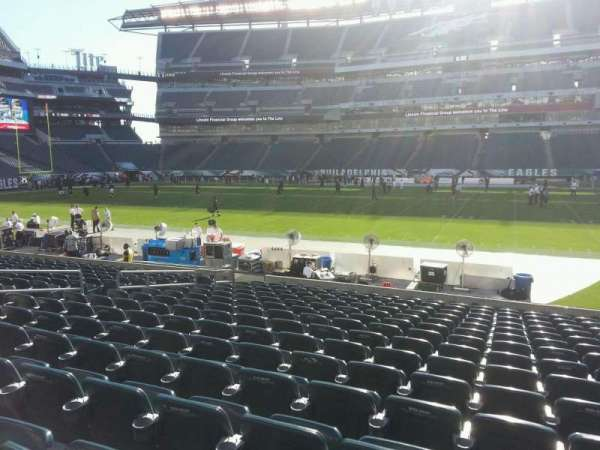 Lincoln Financial Field, secção: 121, fila: 15, lugar: 12