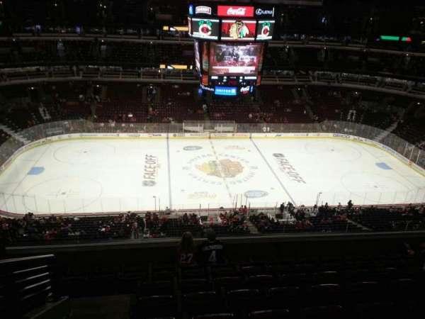 United Center, secção: 301, fila: 8, lugar: 14