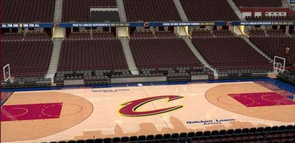 Quicken Loans Arena, secção: C108