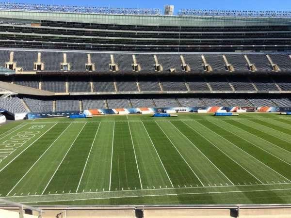 Soldier Field, secção: 340, fila: 6, lugar: 10
