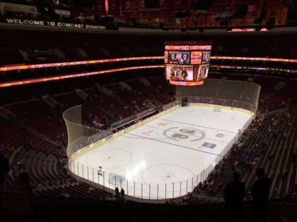 Wells Fargo Center, secção: 209, fila: 10, lugar: 9