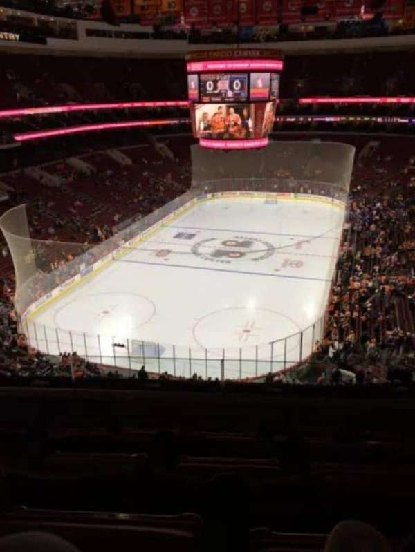 Wells Fargo Center, secção: 220, fila: 5, lugar: 5