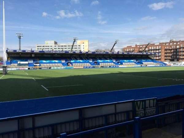 Cardiff Arms Park, secção: Standing 5, fila: 12