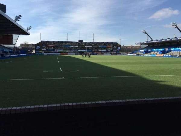 Cardiff Arms Park, secção: 19, fila: C, lugar: 12