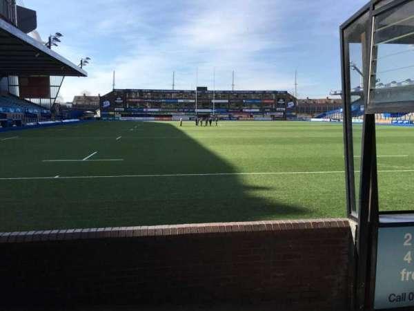 Cardiff Arms Park, secção: 19, fila: D, lugar: 5