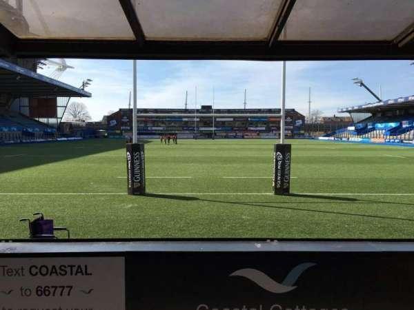 Cardiff Arms Park, secção: 17, fila: D, lugar: 26