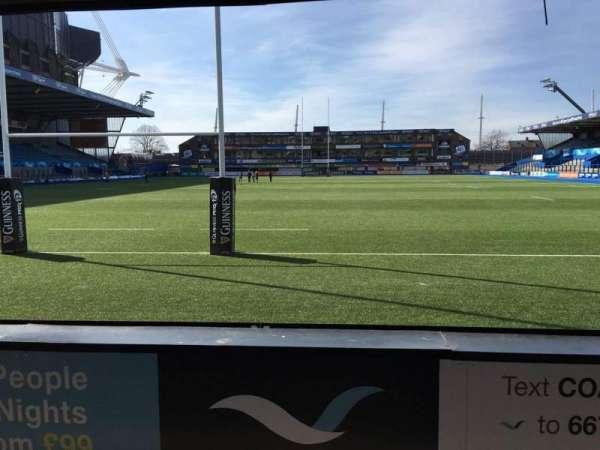 Cardiff Arms Park, secção: 17, fila: C, lugar: 15