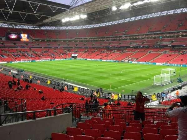 Wembley Stadium, secção: 116, fila: 40, lugar: 152