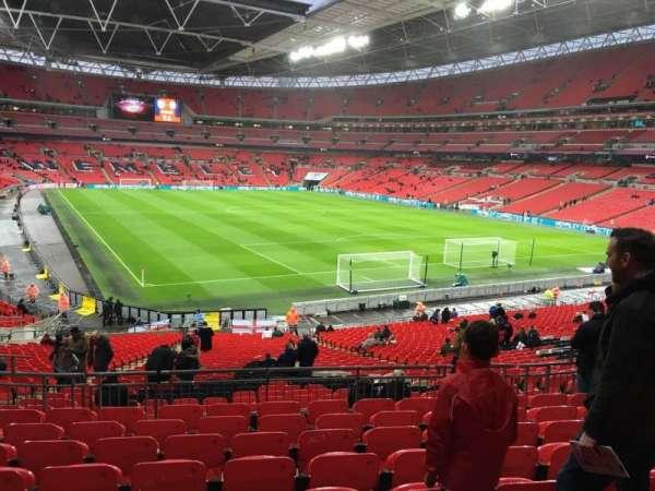 Wembley Stadium, secção: 114, fila: 39, lugar: 89