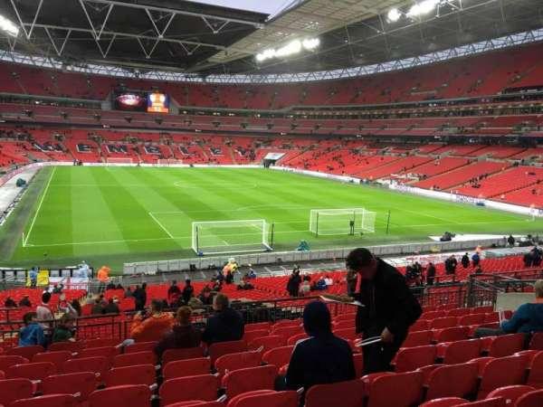 Wembley Stadium, secção: 113, fila: 40, lugar: 62