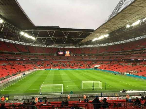 Wembley Stadium, secção: 112, fila: 41, lugar: 30