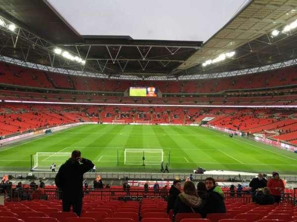 Wembley Stadium, secção: 111, fila: 52, lugar: 2