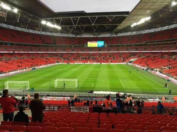 Wembley Stadium, secção: 110, fila: 44, lugar: 244