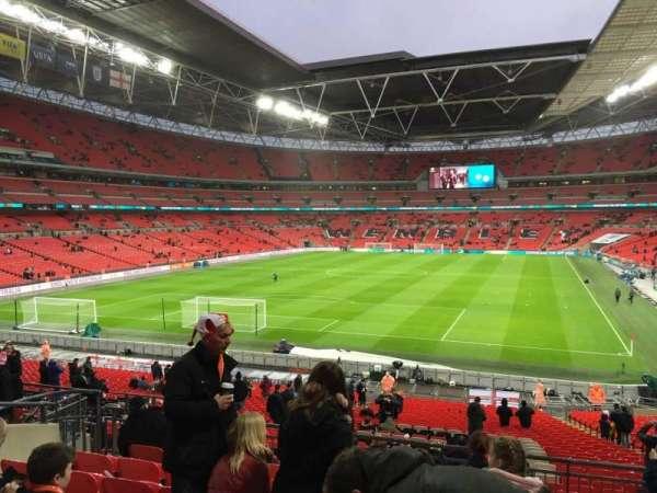 Wembley Stadium, secção: 110, fila: 38, lugar: 213