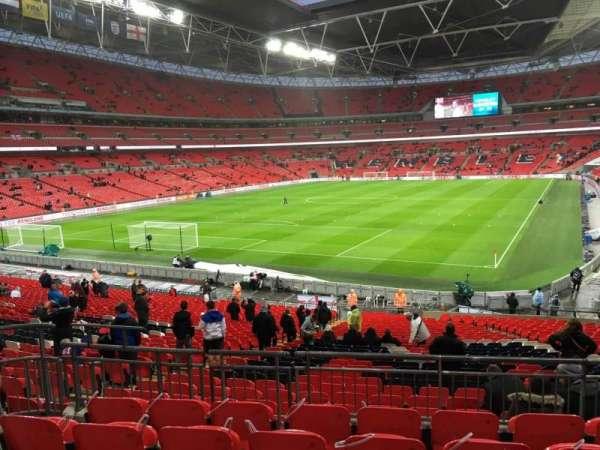Wembley Stadium, secção: 109, fila: 36, lugar: 187