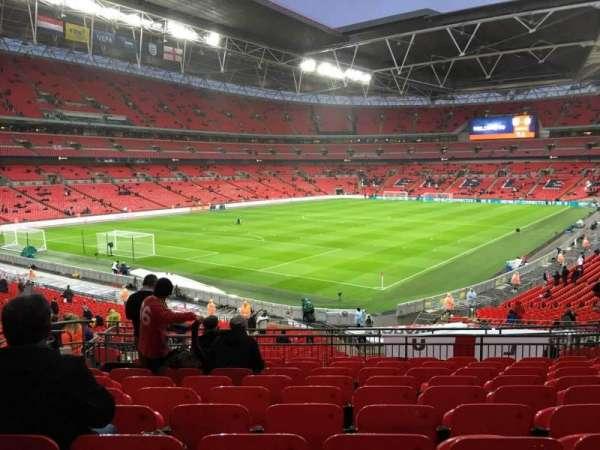 Wembley Stadium, secção: 108, fila: 40, lugar: 157