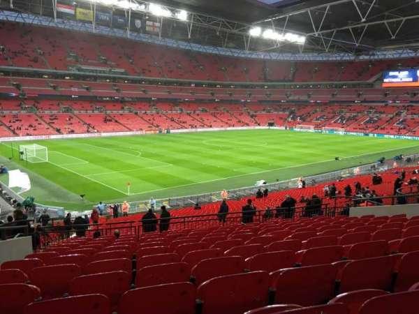 Wembley Stadium, secção: 106, fila: 42, lugar: 100