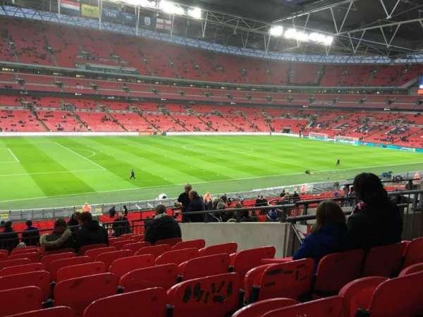 Wembley Stadium, secção: 105, fila: 41, lugar: 62