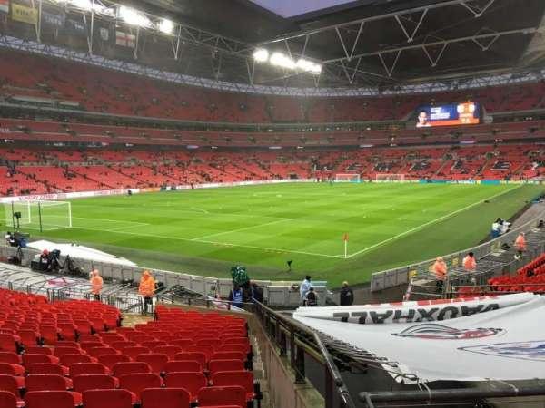 Wembley Stadium, secção: 108, fila: 24, lugar: 150