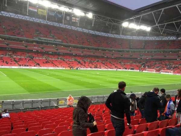 Wembley Stadium, secção: 106, fila: 18, lugar: 66