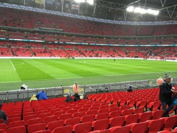 Wembley Stadium, secção: 105, fila: 17, lugar: 35