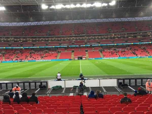 Wembley Stadium, secção: 122, fila: 15, lugar: 1