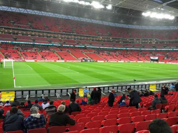 Wembley Stadium, secção: 126, fila: 20, lugar: 114