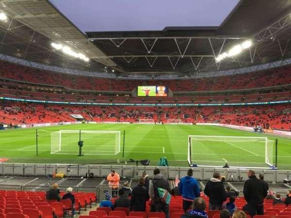 Wembley Stadium, secção: 132, fila: 17, lugar: 300