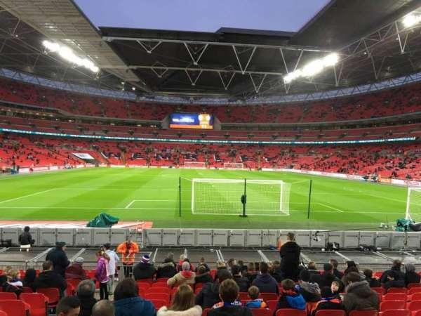 Wembley Stadium, secção: 133, fila: 16, lugar: 10