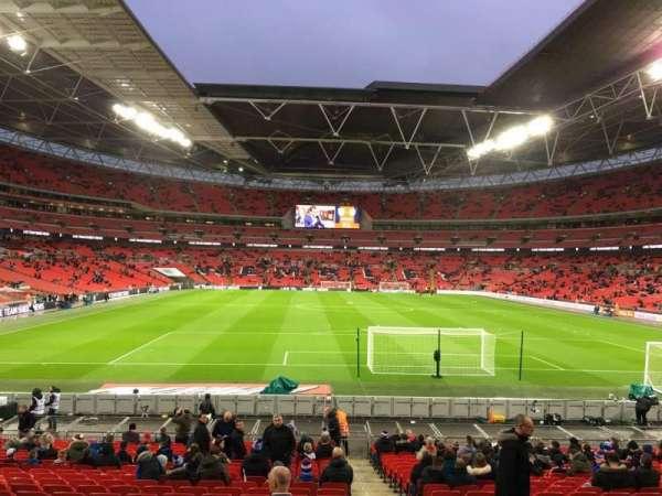 Wembley Stadium, secção: 134, fila: 25, lugar: 17