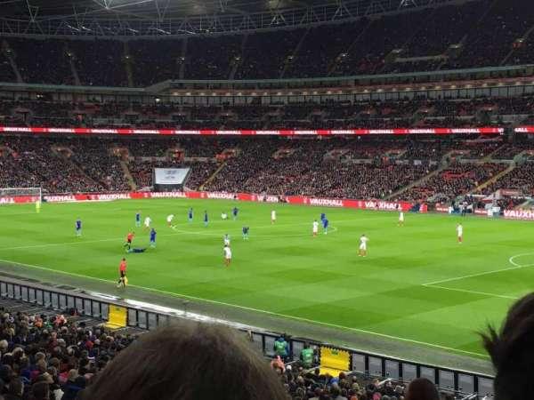 Wembley Stadium, secção: 118, fila: 32, lugar: 177