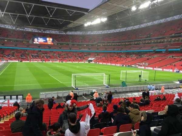 Wembley Stadium, secção: 112, fila: 24, lugar: 63