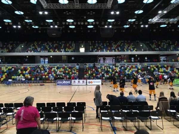 Copper Box Arena, secção: 111, fila: 4, lugar: 57